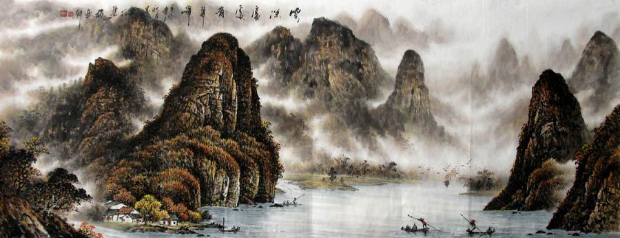 主题:李宗峻·小六尺漓江山水