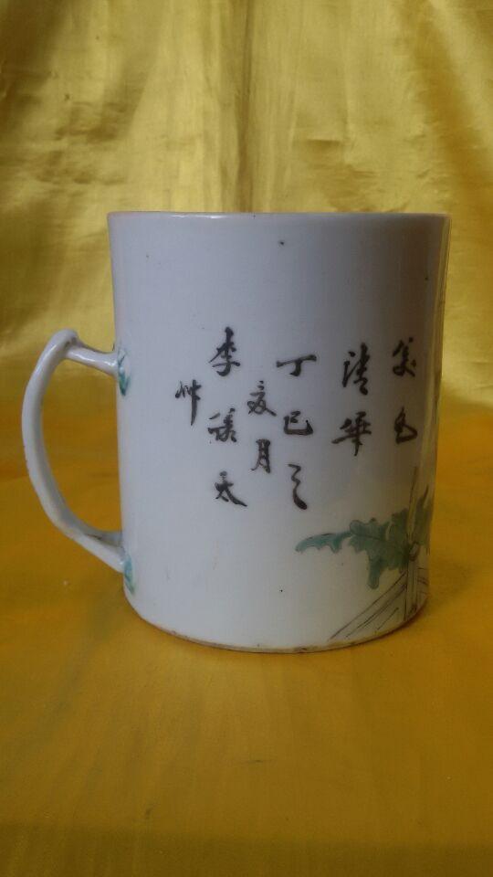 陶艺可爱杯子图片